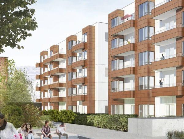 Vi bygger boliger i København